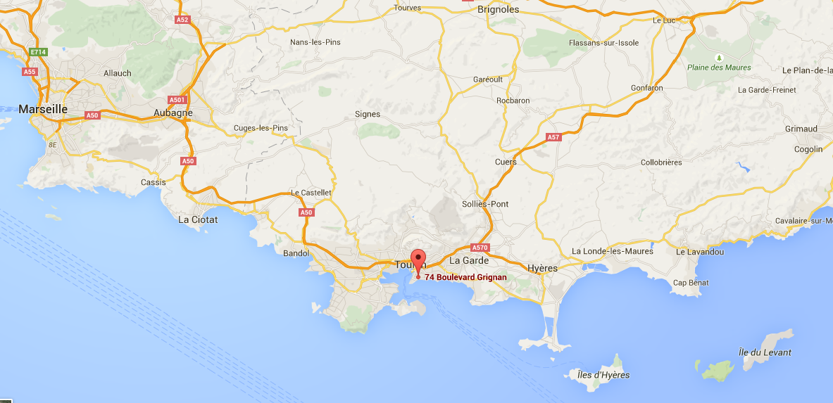 Voir le plan d acces sur google map