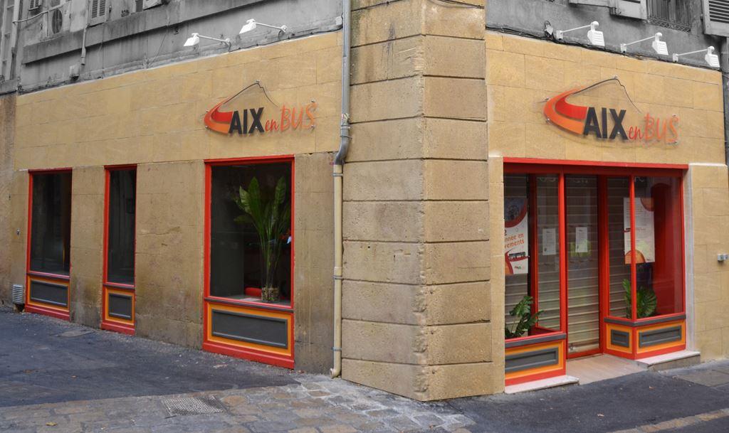 Agencement agence commerciale de bus aix en provence - Bus aix en provence salon de provence ...