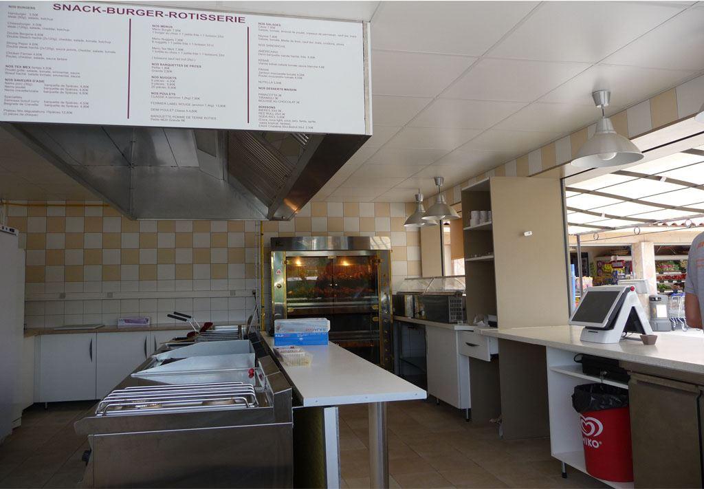 Snack restaurant r alis par notre architecte d int rieur - Amenagement snack ...