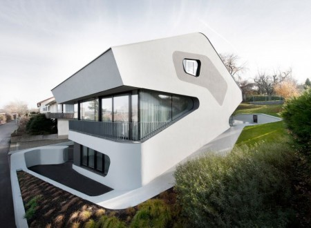 Maison design projet ols house by j mayer architect