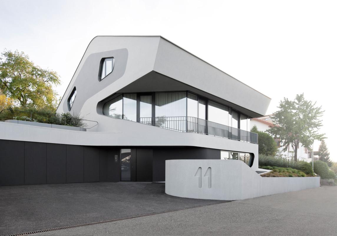 Favori Maison design et contemporaine signée J. Mayer H Architects RT82