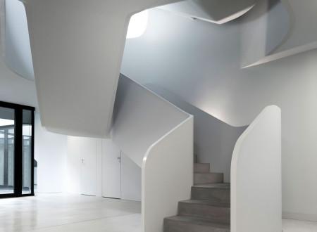 Maison design projet ols house escalier