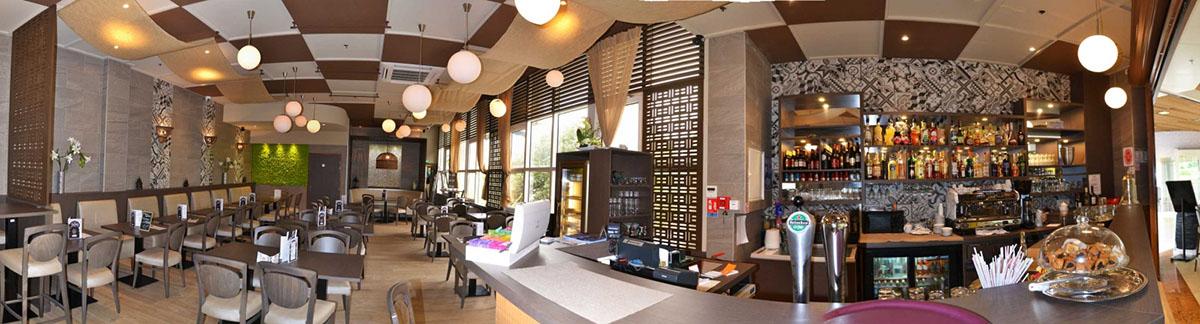 Décoration restaurant avenue 83