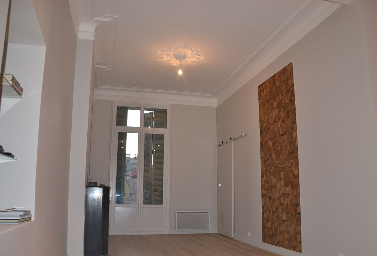 R novation et architecture d 39 un appartement style haussmannien toulon - Renovation appartement haussmannien ...