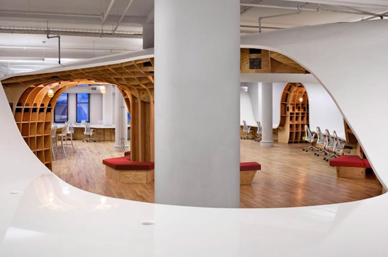 Agencement et design d 39 espace hallucinant new york - Amenagement d espace de travail ...