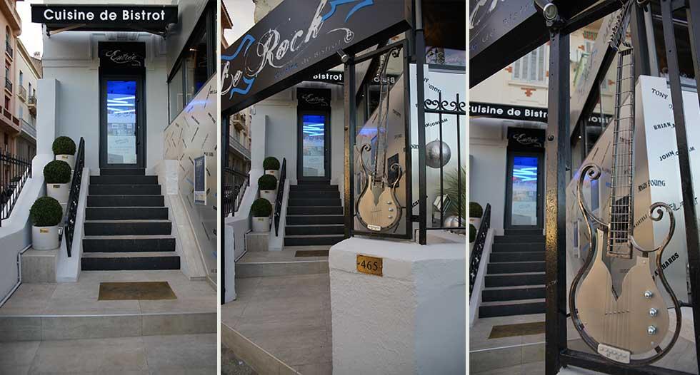 architecture int rieure et design du restaurant le rock a toulon 83. Black Bedroom Furniture Sets. Home Design Ideas