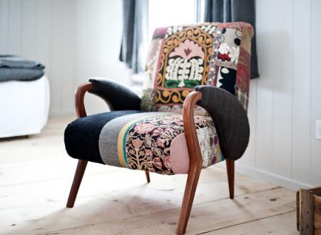 Chaise design pop baroque