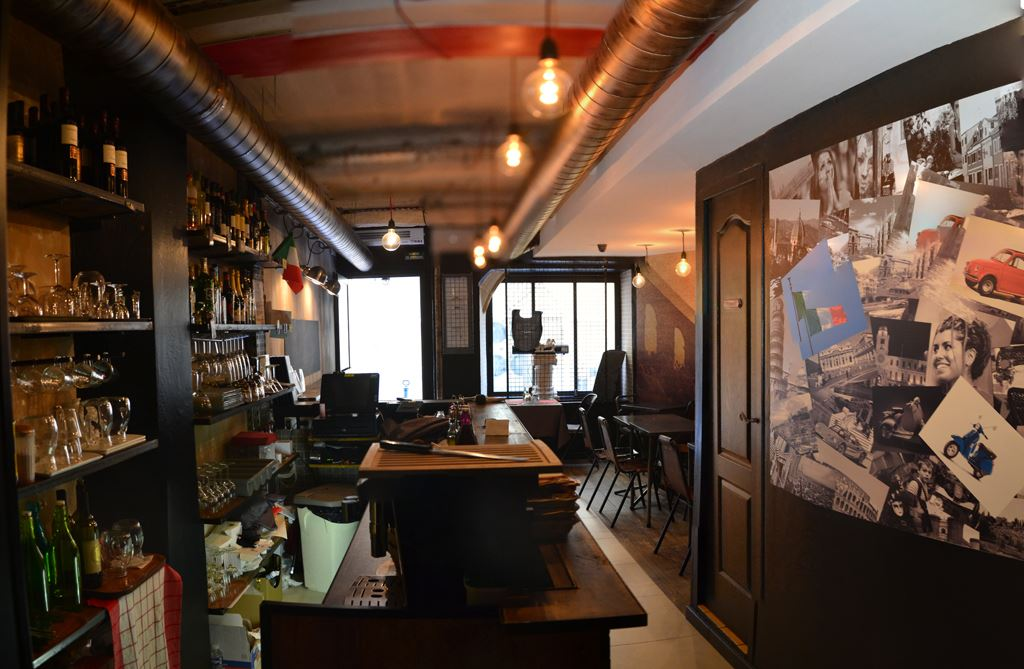 Architecte agencement restaurant dal gladiatore aix en for Interieur restaurant