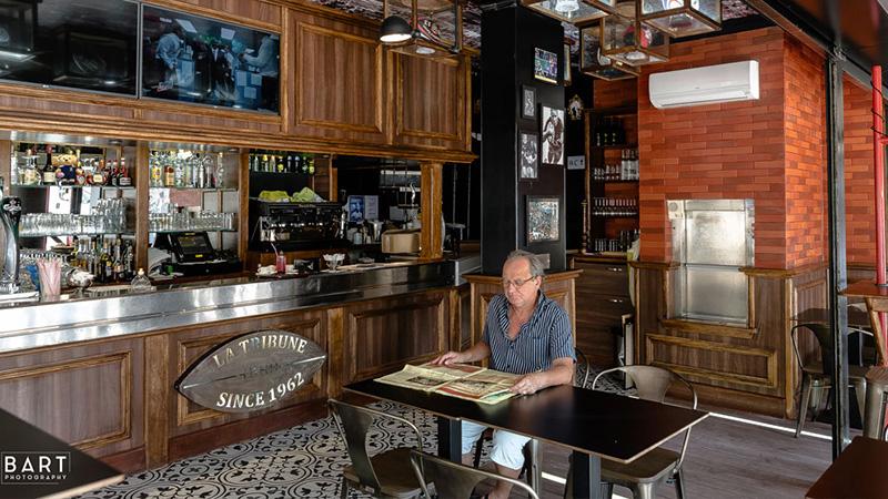 Agencement de brasserie et lieux de restauration