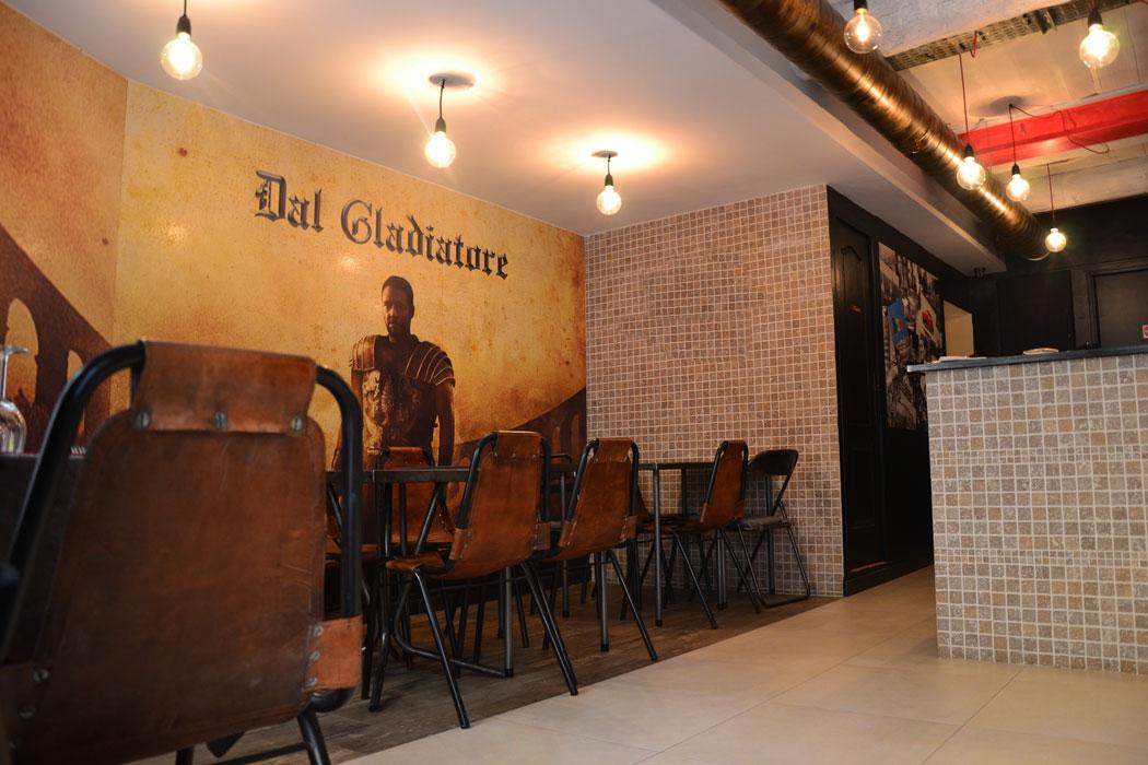 Architecte agencement restaurant dal gladiatore aix en for Architecte interieur aix en provence