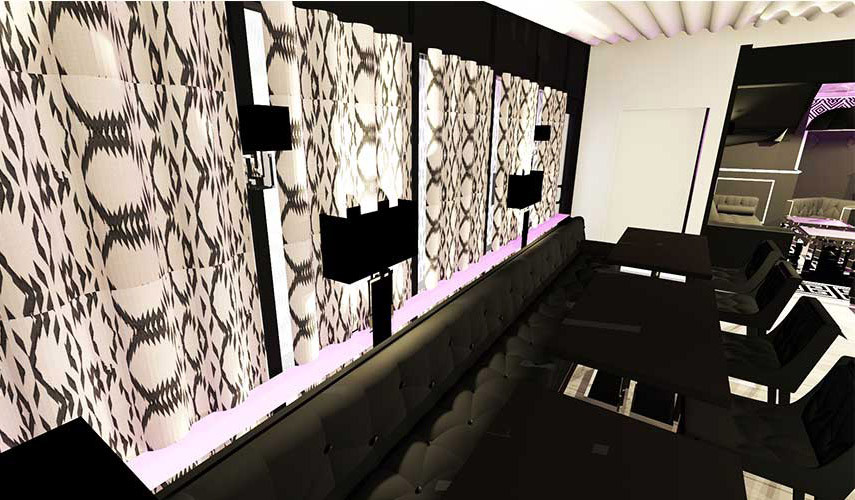 Agencement décoration de restaurant roquebrune sur argens La place carl tran 01