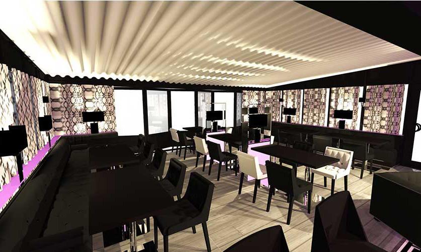 Agencement décoration de restaurant roquebrune sur argens La place carl tran 03
