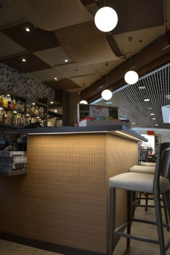 architecte agencement restaurant centre commercial toulon