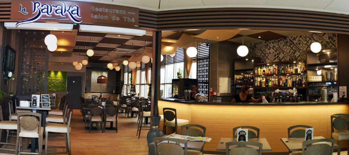 Architecture intérieure restaurant la baraka grand var