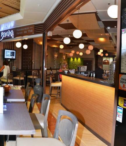 devanture nouveau restaurant la baraka à grand var à la garde