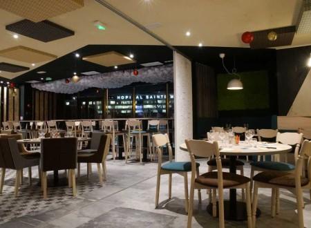 Décoration d'intérieur de salle de restaurant brasserie à La garde dans le Var - Le PETIT RUNGIS