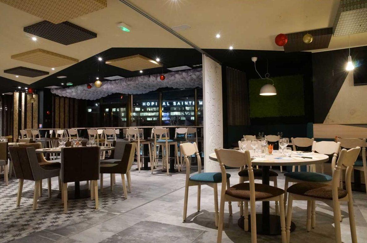 Agencement du petit rungis brasserie ste musse toulon for Interieur restaurant
