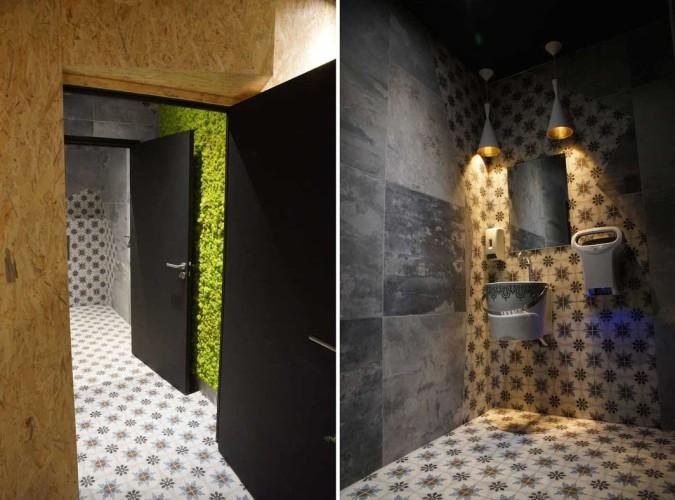 Design d'objet et décoration complète d'un nouveau restaurant dans le var