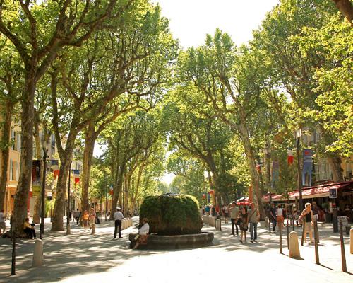 Aix en Provence cours Mirabeau