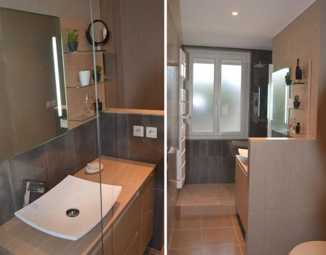 décorateur salle de bain bois et cosy
