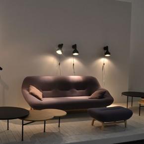 photo d'un espace salon canapé au Salon Maison et Objets de Paris 2014