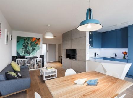 décoration d'intérieur d'un appartement sur Aix en Provence