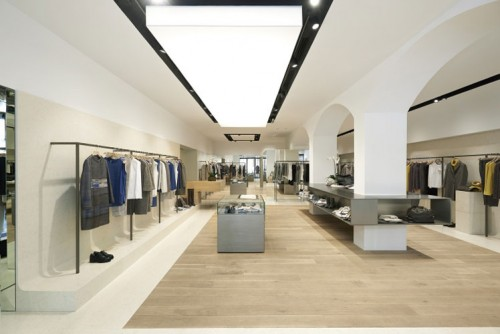 agencement commercial design blanc Aix en Provence