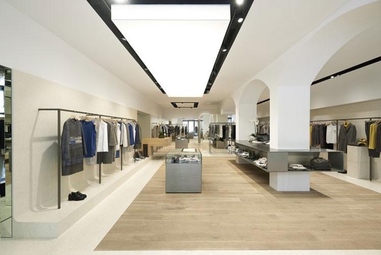 agencement commercial design blanc Aix en Provence