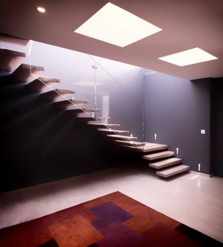 Escalier design fait par un architecte d'intérieur à TOULON
