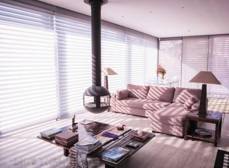 Salon d'une maison de luxe a sanary décorée par carl tran architecte d'intérieur