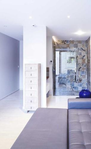 Design chambre d'ami d'une belle villa toulonnaise