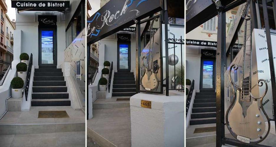 devanture restaurant le rock à toulon
