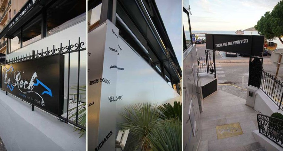 Photos du projet d'architecture intérieure d'un restaurant au Mourillon