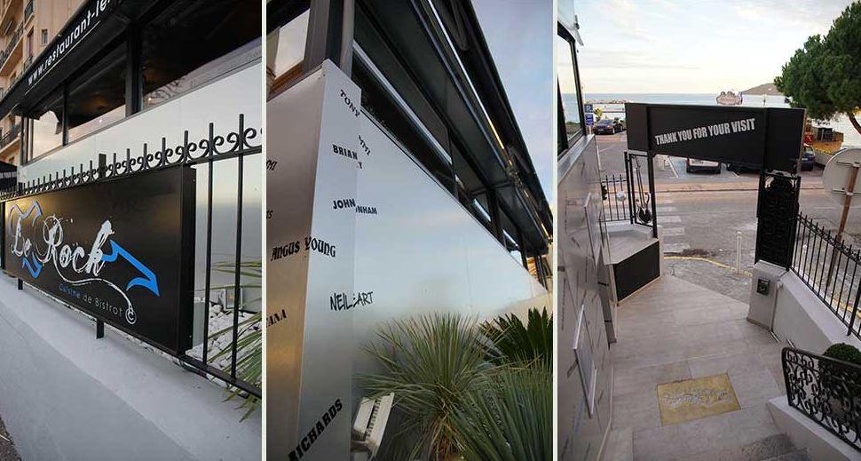 architecte d int rieur toulon design du restaurant le rock. Black Bedroom Furniture Sets. Home Design Ideas