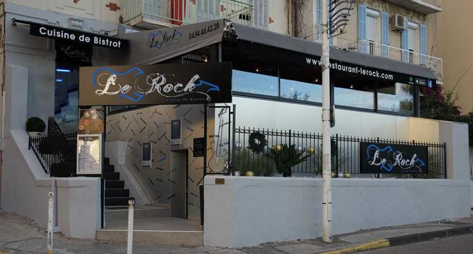 Vue extérieure restaurant Le Rock designé par CT CREATION