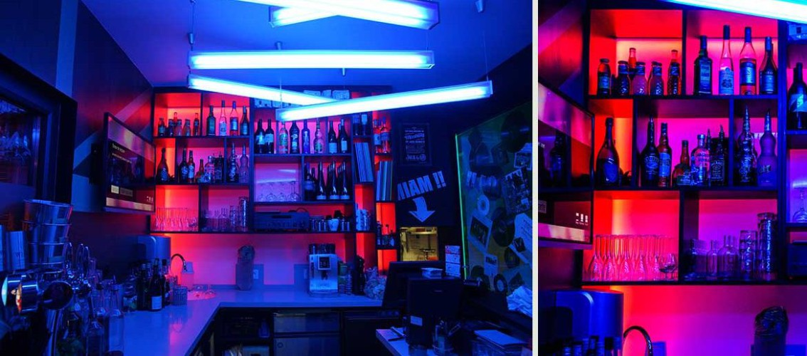 Bar bleu bouteille restaurant le rock toulon