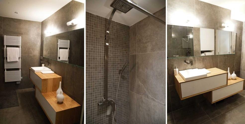 Salle de bain moderne et design à TOULON