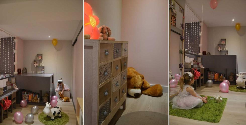 Chambre d'enfant décoration sobre et design à TOULON