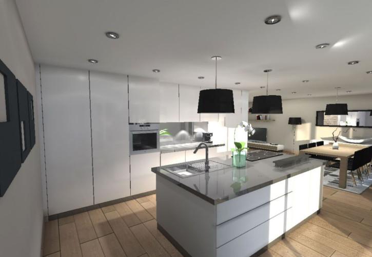 D coration par un architecte d 39 int rieur d 39 une villa sanary - Architecte d interieur marseille ...
