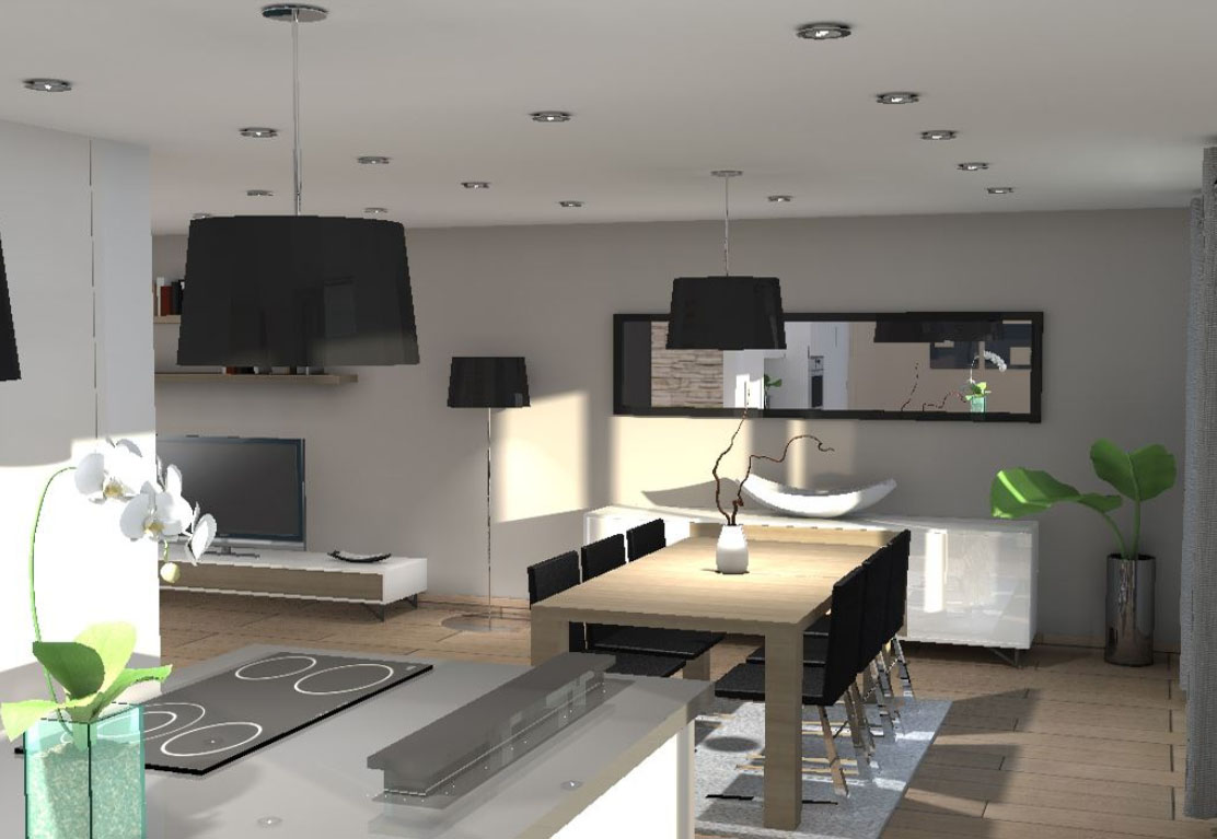 Architecte interieur 3d gratuit fran ais for Interieur 3d