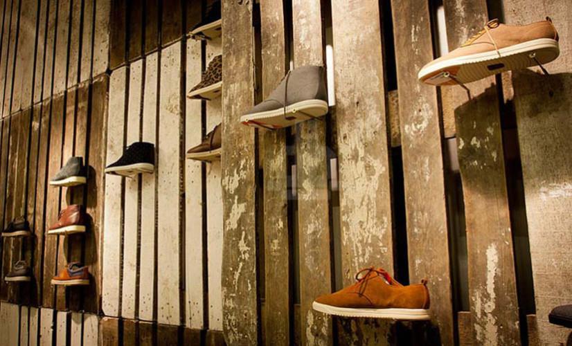 clae architecture boutique chaussure