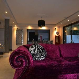 Vue du salon re-décoré par notre architecte d'intérieur