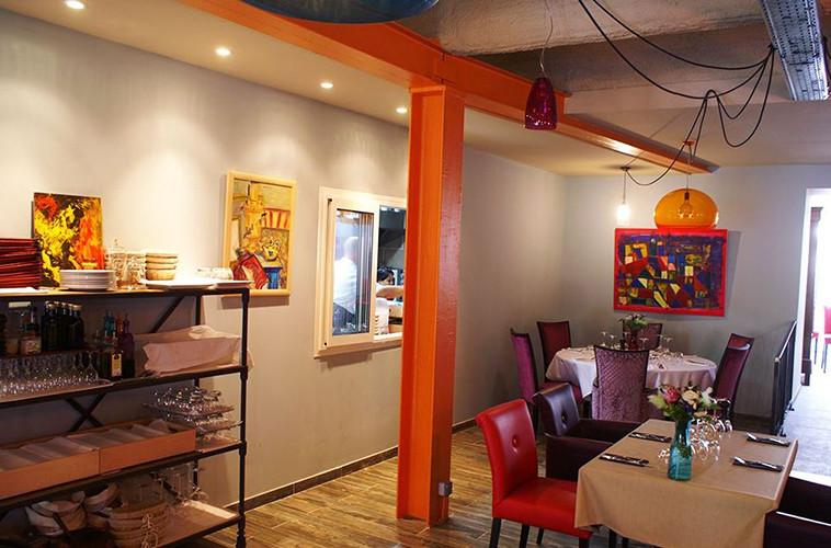 Design d'intérieur d'un restaurant à St Tropez dans le var