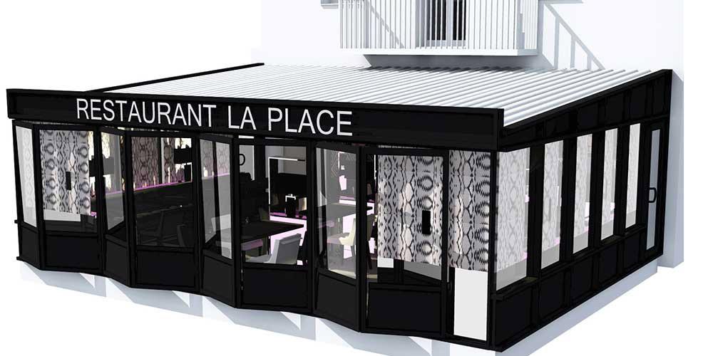 Déco 3D extérieure par architecte d'intérieur var