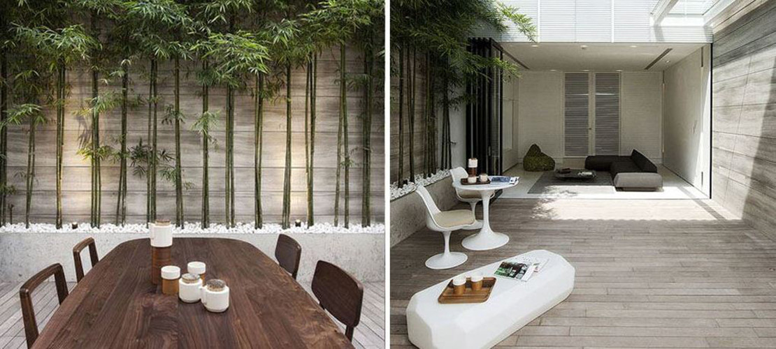 D co terrasse ouverte for Deco appartement zen
