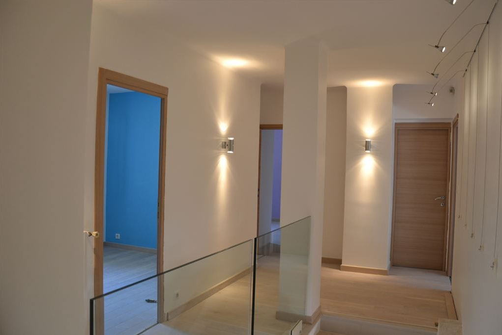 D coration et agencement interieur d une villa sanary for Interieur maison d architecte