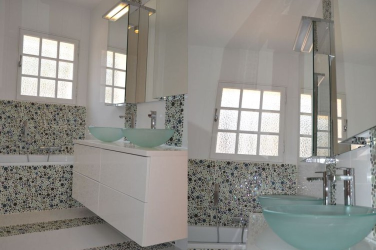 Evier design par décorateur d'intérieur à Sanary