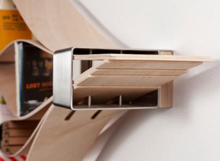 Etagère chuck coin en bois