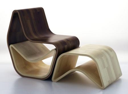 GVAL un fauteuil en bois évolutif