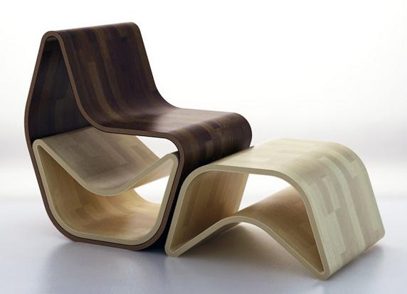 deux fauteuils en un c 39 est l 39 esprit gval. Black Bedroom Furniture Sets. Home Design Ideas